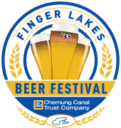 Finger Lakes Beer Festival presented by Chemung Canal Trust Company logo