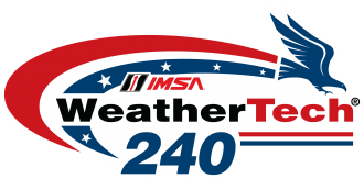IMSA WeatherTech 240 at The Glen logo